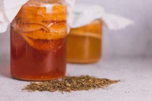 Teesorten für Kombucha