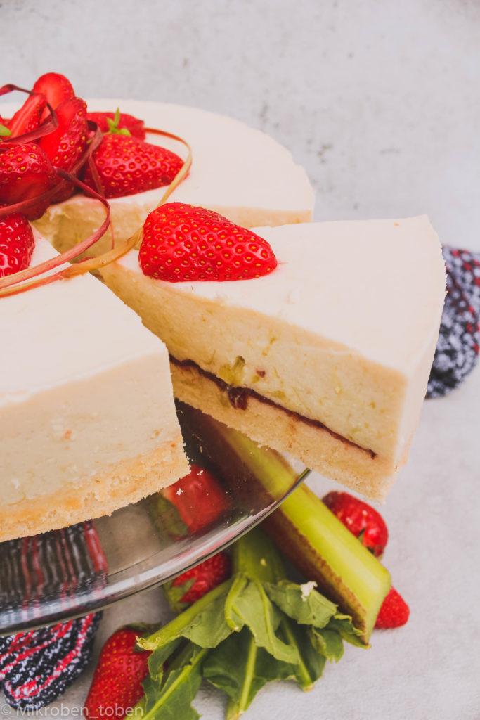 Rhabarber - Kefir - Kuchen