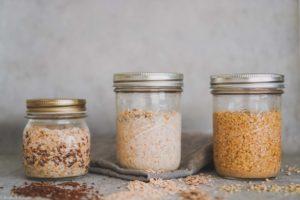 Fermentiertes Getreide