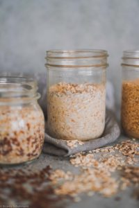 Fermentiertes Getreide selber machen.
