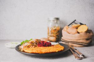Rösti mit Fermenten und Milchkefir