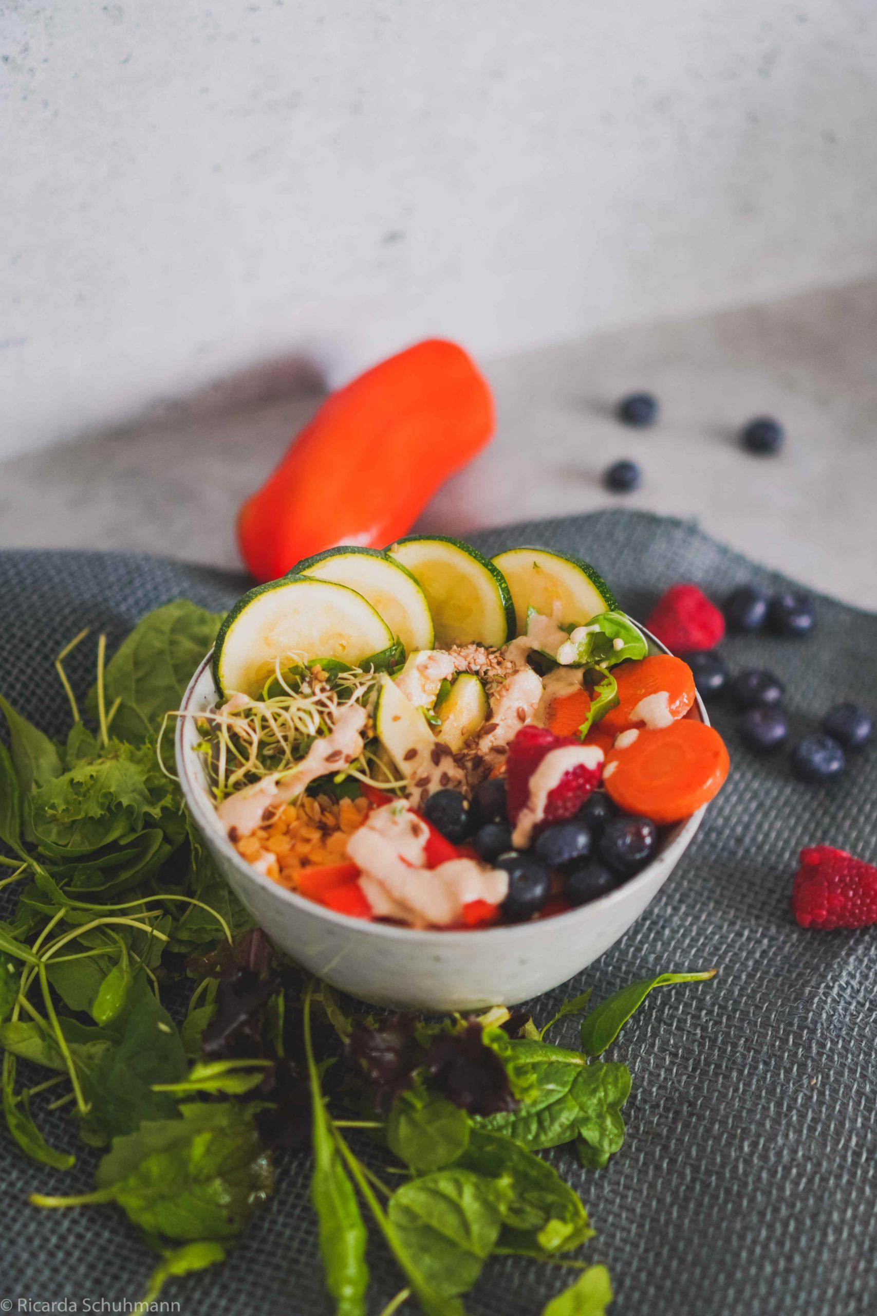 Bowl mit Fermenten für den Alltag