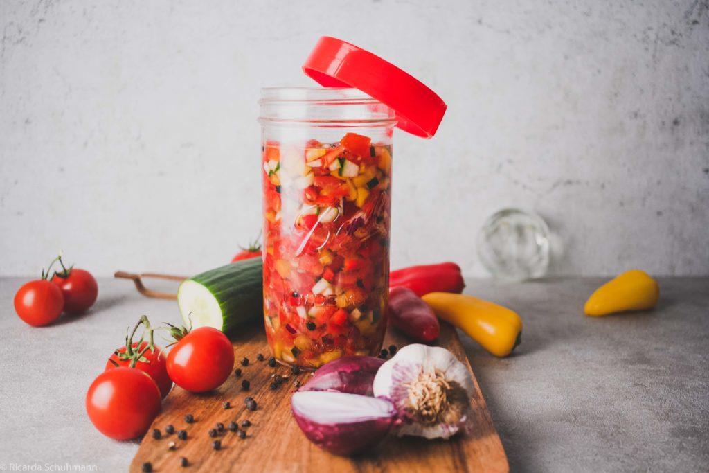 Tomaten fermentieren als Salsa