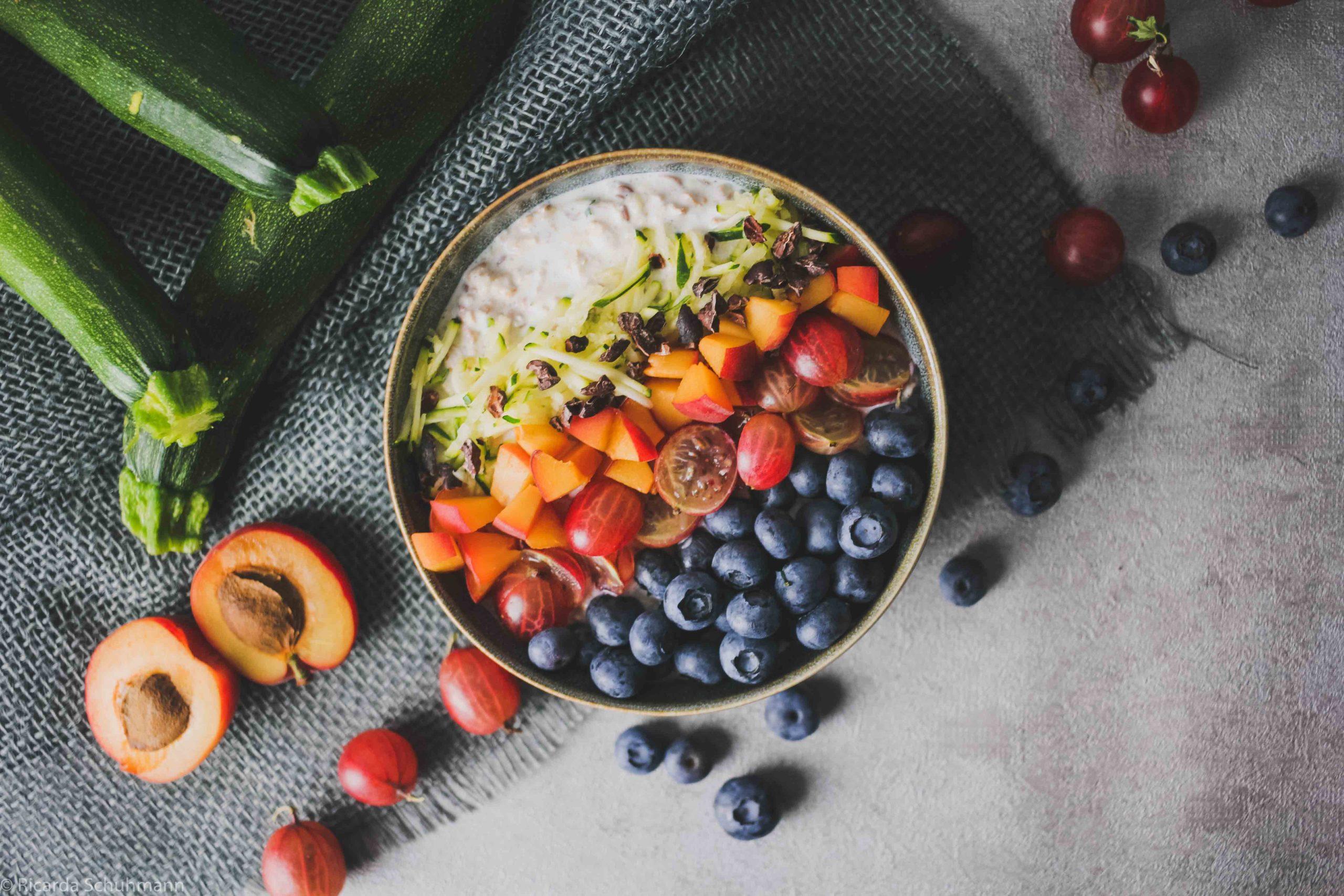 Zoats - Fermentiertes Getreide mit Zucchini