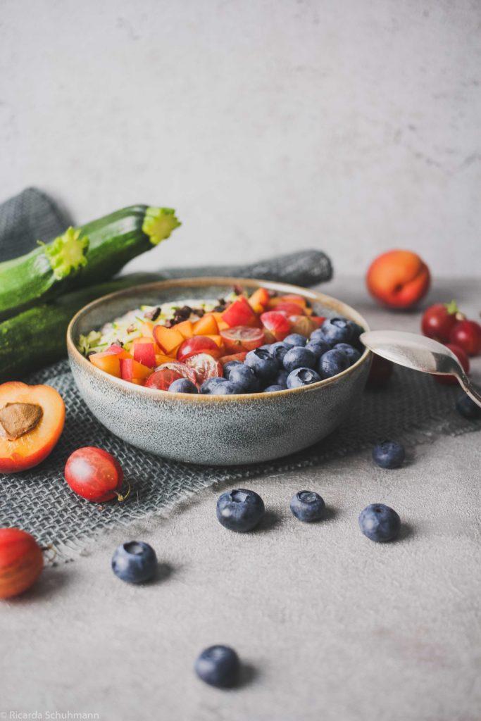 Zoats: Fermentiertes Getreide mit Zucchini